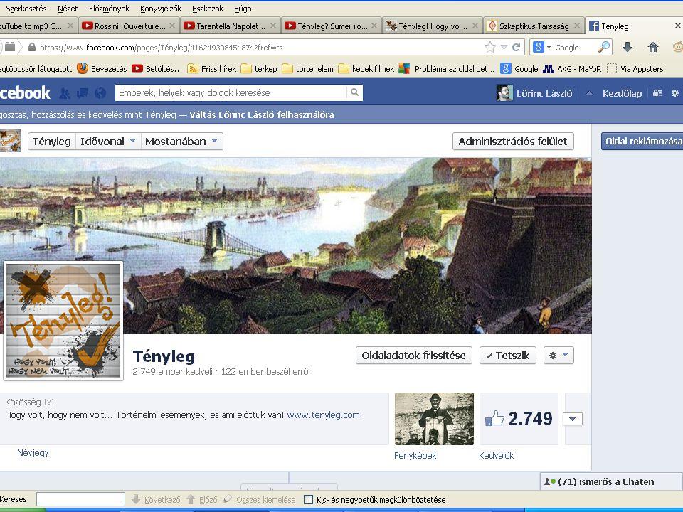 Adatok : •72 225 személy látogatta meg a honlapot (ebben a többszöri látogatások nincsenek benne, ezek százezres nagyságrendűek) •2700 felett vannak a FB oldal lájkolói •A népszerűbb FB bejegyzéseinket 10-20 ezer felhasználó látja, az átlagosakat is több ezren.