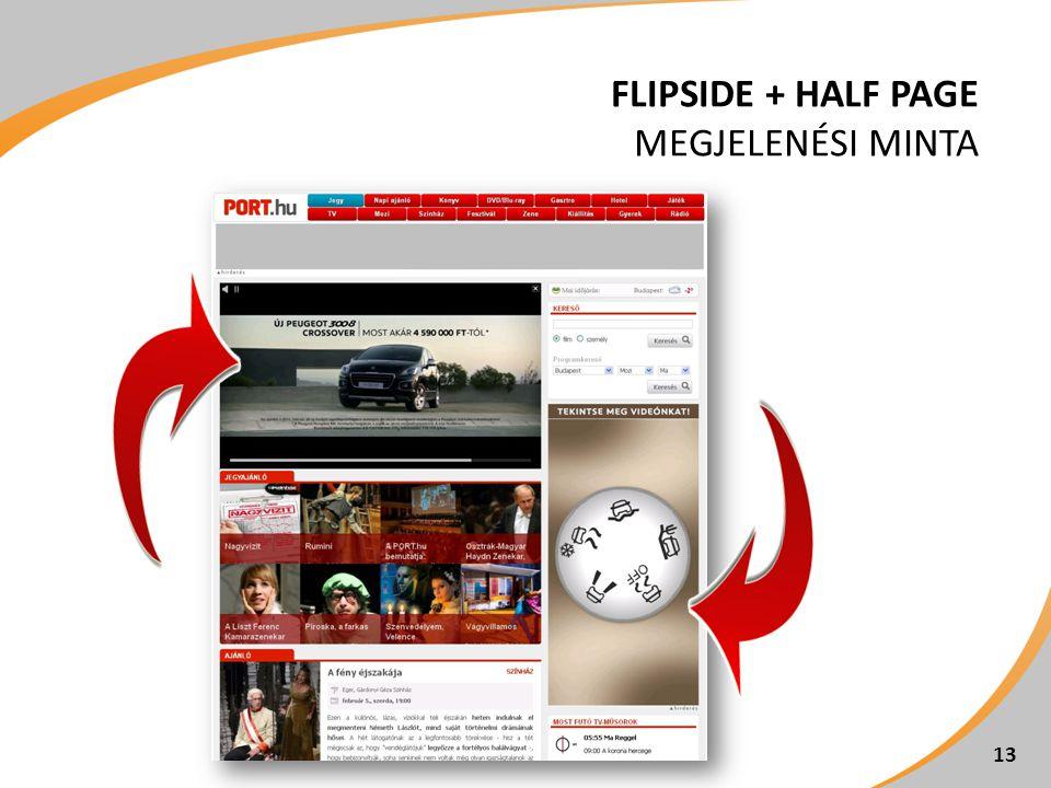 FLIPSIDE + HALF PAGE MEGJELENÉSI MINTA 13