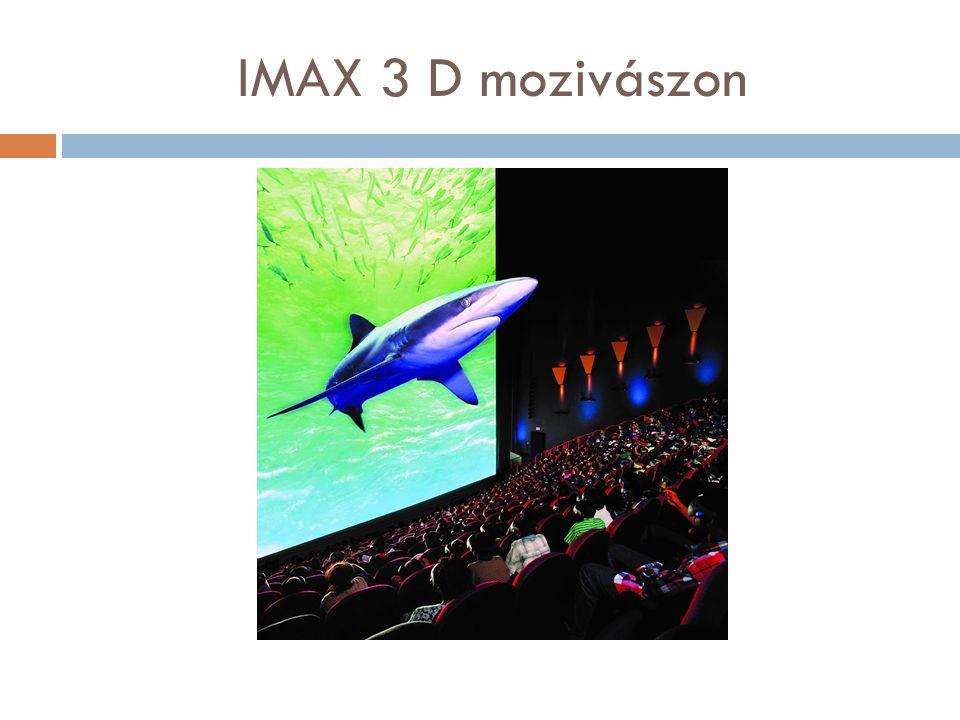 IMAX 3 D mozivászon