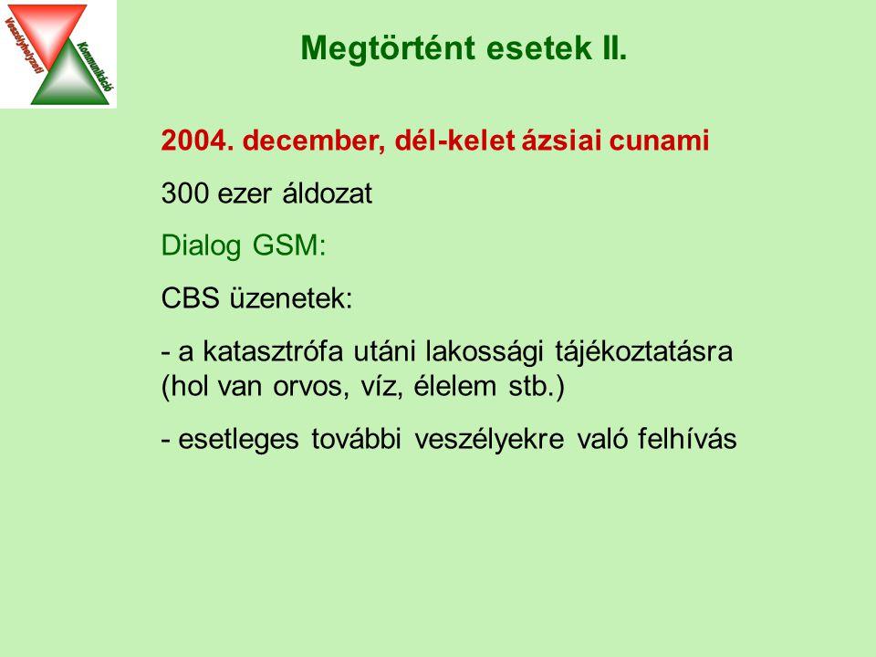 Megtörtént esetek II. 2004.