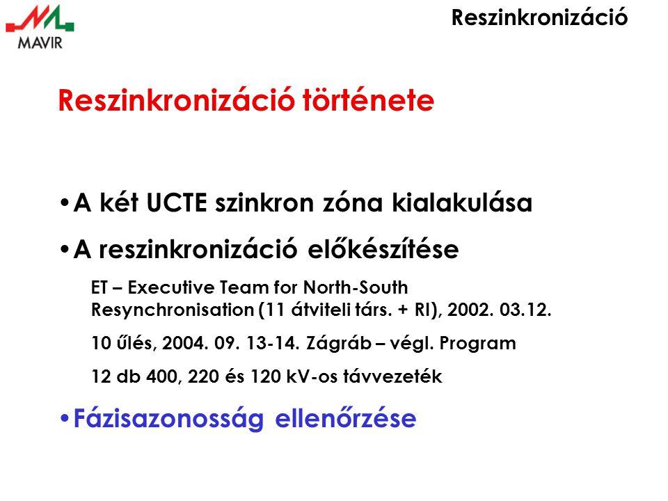 9 41 órakor: Sándorfalva-Szabadka 400 kV-os távvezeték bekapcsolása Sándorfalván (Arad távvezeték mennyiségei)