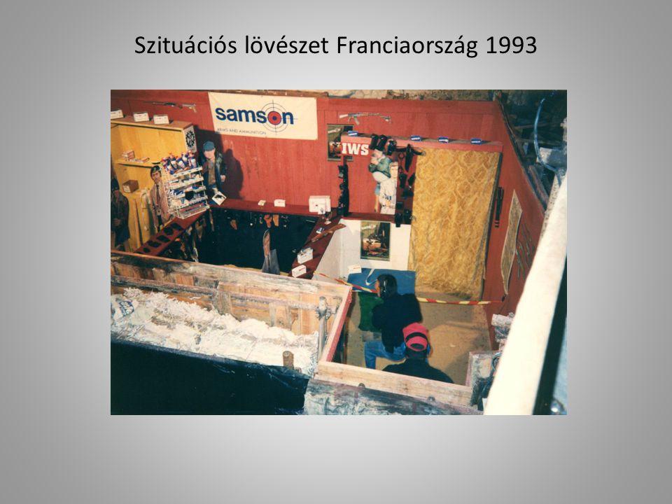Szituációs lövészet Franciaország 1993