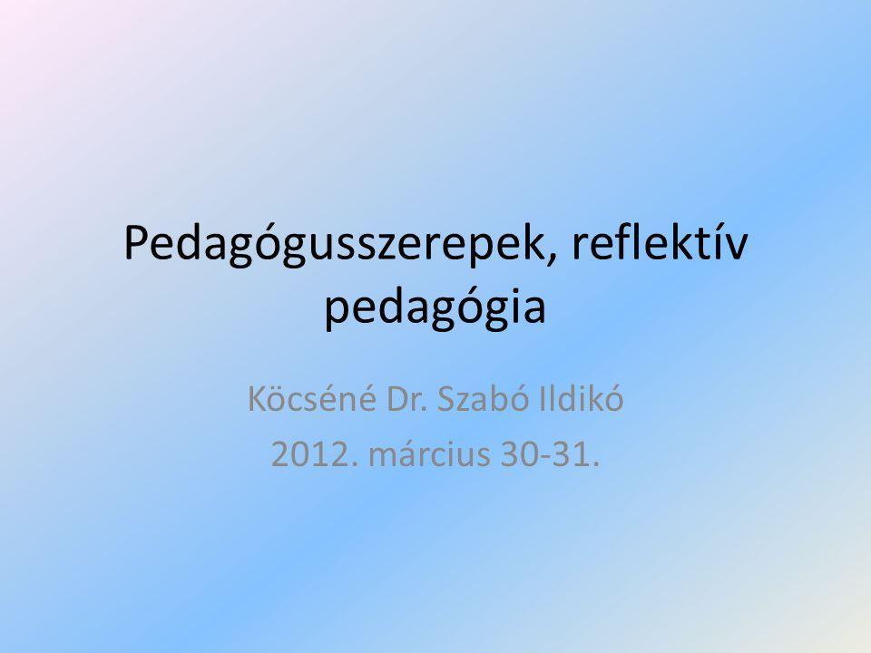 Irodalom • Bagdy Emőke (1997): A pedagógus hivatásszemélyisége: KLTE, Debrecen • Boreczky Ágnes (1995): Menni, vagy maradni?-A tanárok iskolai konfliktusairól.