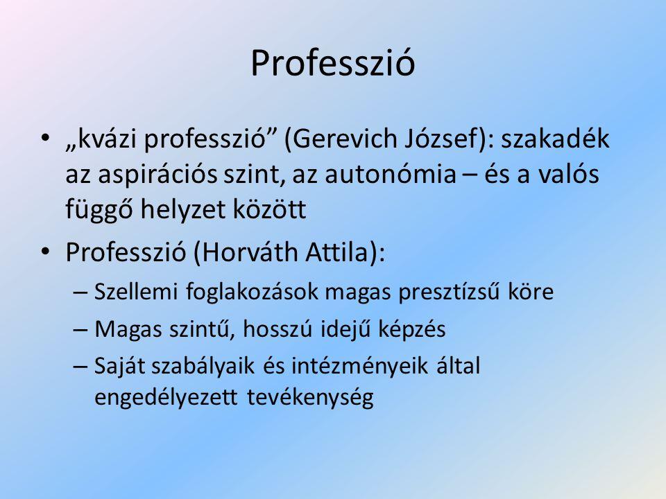 A tanári szakma - professzió (Bugán Antal) • Szaktárgyi ismeret • Ismeretátadás: személyek közötti bonyolult interakcióban – Megoldása: • egyéni úton, szubjektív ítéleteken alapul • ösztönös, spontán döntések – Szubjektív vélekedés szakmai rangra emelkedik • Tantestületen belül sok szubjektív elmélet • Szülőkkel egy terminológia