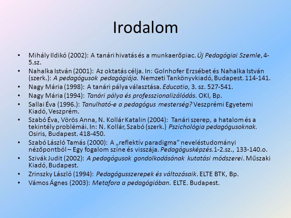 Az egységes tanárképzés jogi környezete • 2005/139.