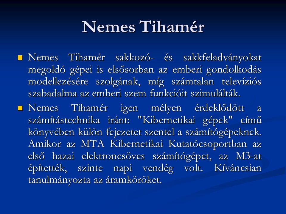 Nemes Tihamér  1960.március 30-án hunyt el Budapesten.