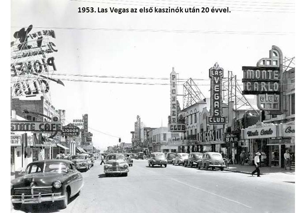 1953. Az első nukleáris töltet kilövésére képes ágyú. Nevadai kísérleti telep.