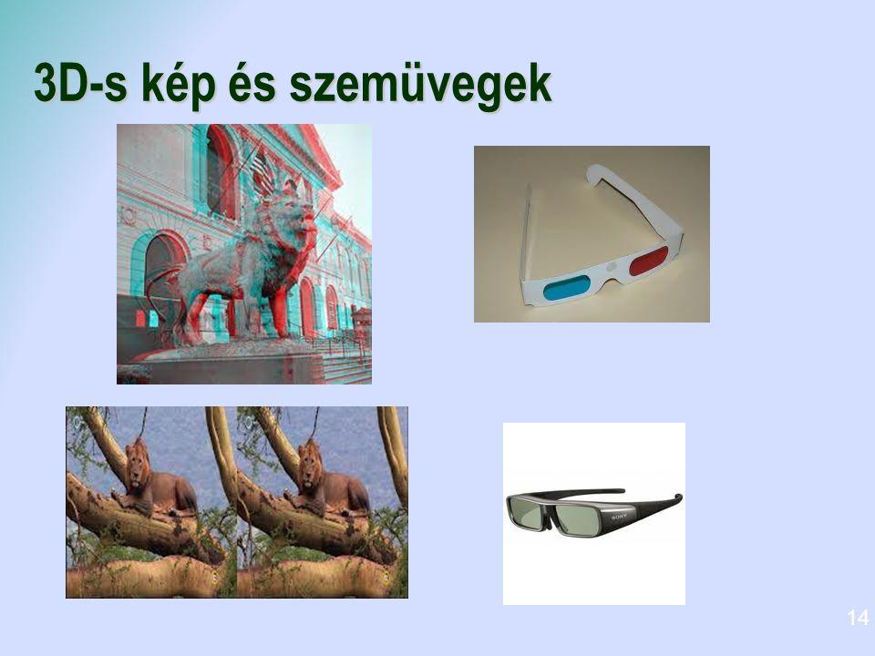 3D-s kép és szemüvegek 14