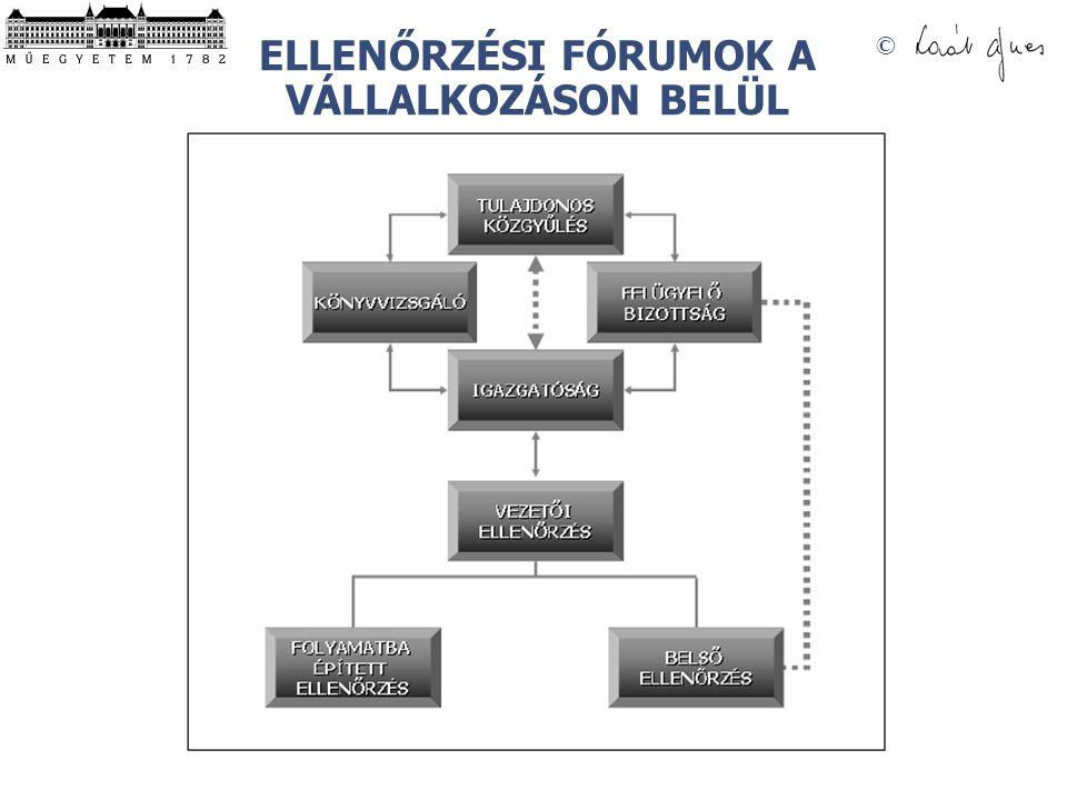 © ELLENŐRZÉSI FÓRUMOK A VÁLLALKOZÁSON BELÜL
