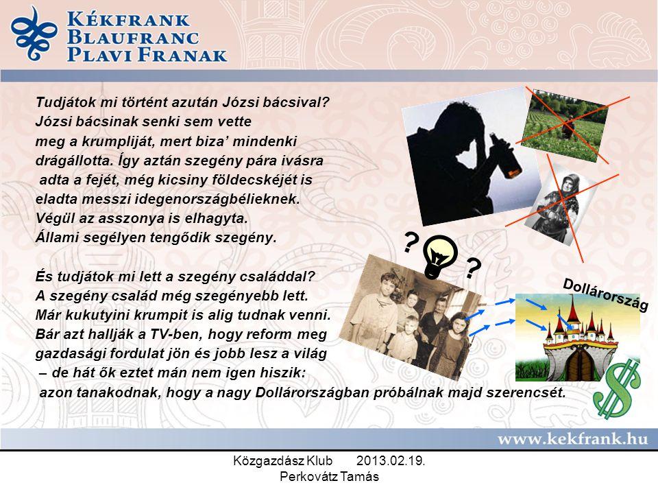 Közgazdász Klub 2013.02.19.