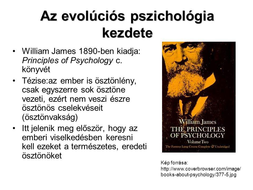 Új emberkép •Az ember úgy születik, hogy rendelkezik élettanilag adott gondolkodóképességgel és szabályzórendszerrel •Ez a rendszer hat az emberre, mint mentális lényre •Ez okozza, hogy az emberek alapjában véve egységesek abban, hogy mi tartanak jónak és rossznak •Ezt William James előtt nem próbálták természettudományos módon bizonyítani