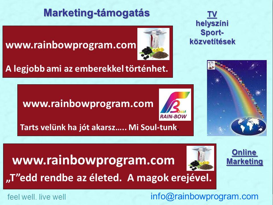 Perpetuum Mobile www.rainbowprogram.com A legjobb ami az emberekkel történhet. www.rainbowprogram.com Tarts velünk ha jót akarsz….. Mi Soul-tunk. www.