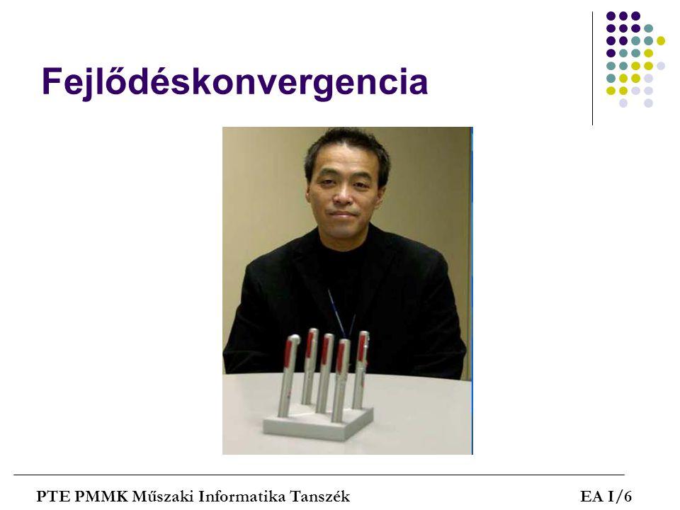 Alternatív megoldások PTE PMMK Műszaki Informatika TanszékEA I/27 Optimus billentyűzet programozható gombokkal