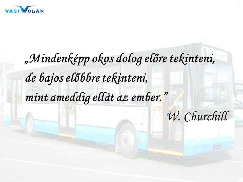 """. """"Mindenképp okos dolog előre tekinteni, de bajos előbbre tekinteni, mint ameddig ellát az ember."""" W. Churchill"""
