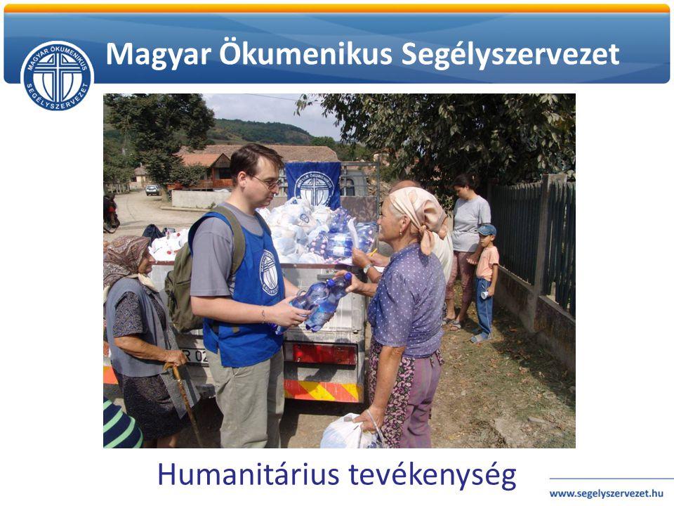 Magyar Ökumenikus Segélyszervezet Humanitárius tevékenység