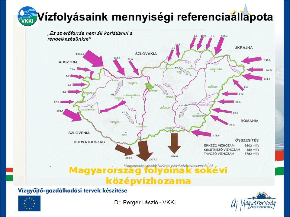 """Dr. Perger László - VKKI Vízhozam Mo. Vízfolyásaink mennyiségi referenciaállapota """"Ez az erőforrás nem áll korlátlanul a rendelkezésünkre"""""""