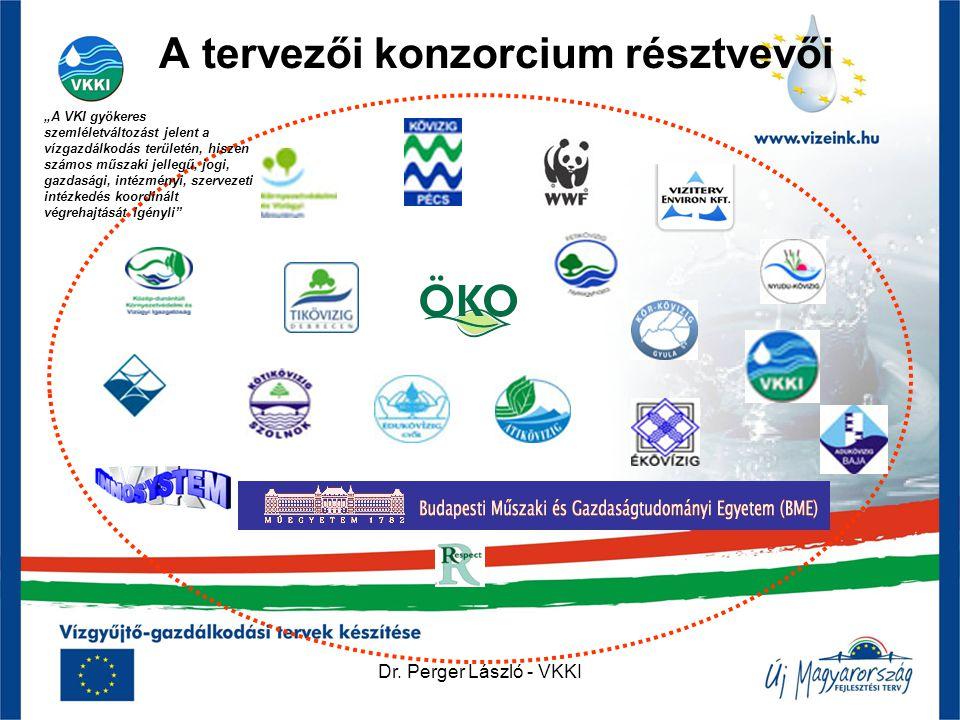 """A tervezői konzorcium résztvevői """"A VKI gyökeres szemléletváltozást jelent a vízgazdálkodás területén, hiszen számos műszaki jellegű, jogi, gazdasági,"""