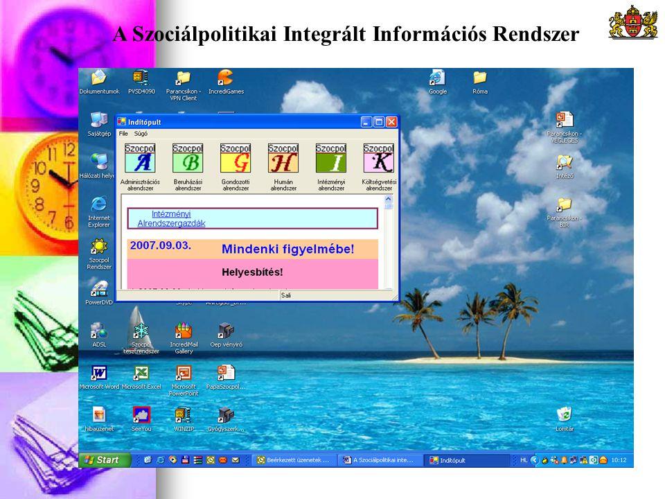 A Szociálpolitikai Integrált Információs Rendszer