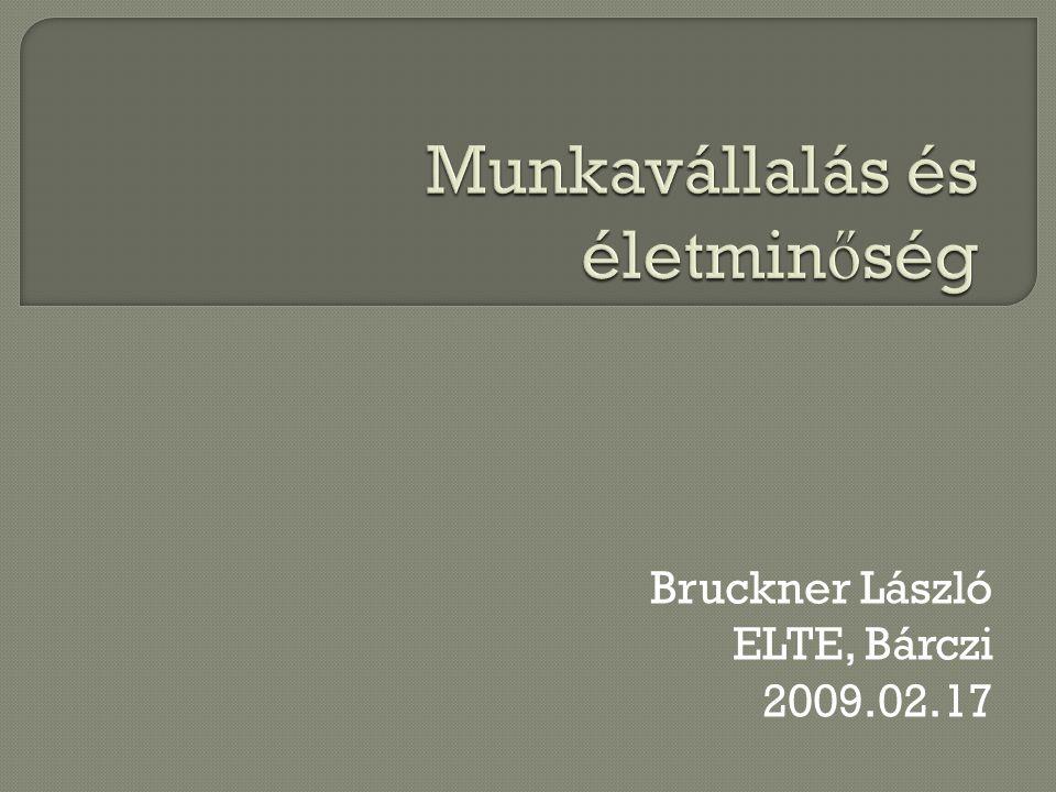 Bruckner László ELTE, Bárczi 2009.02.17