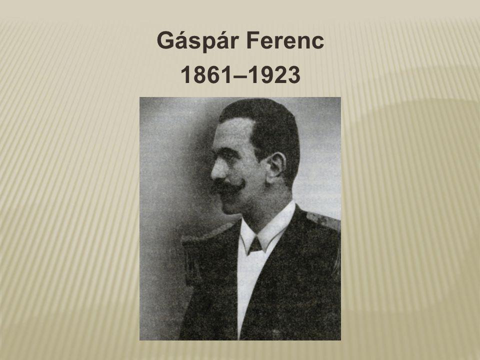 Gáspár Ferenc 1861–1923