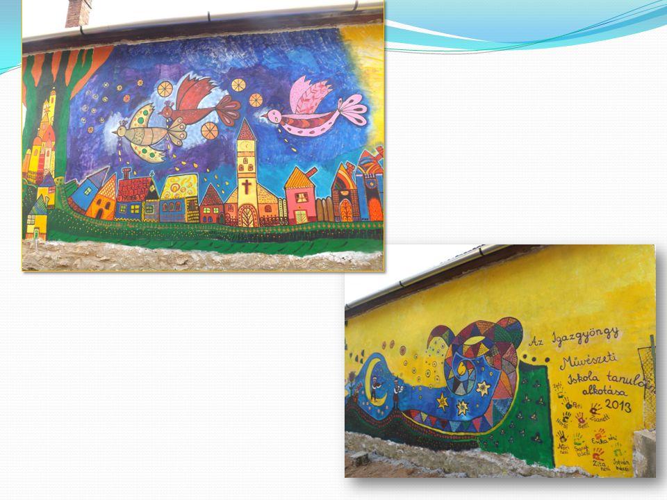 Az elkészült festmény – Our mural