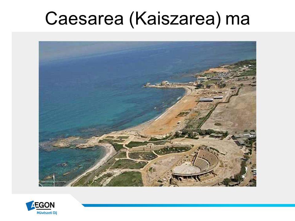 Caesarea (Kaiszarea) ma