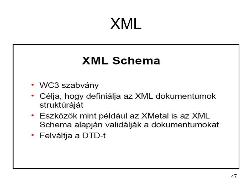 47 XML