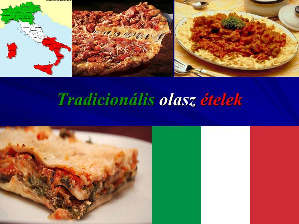 Tradicionális olasz ételek