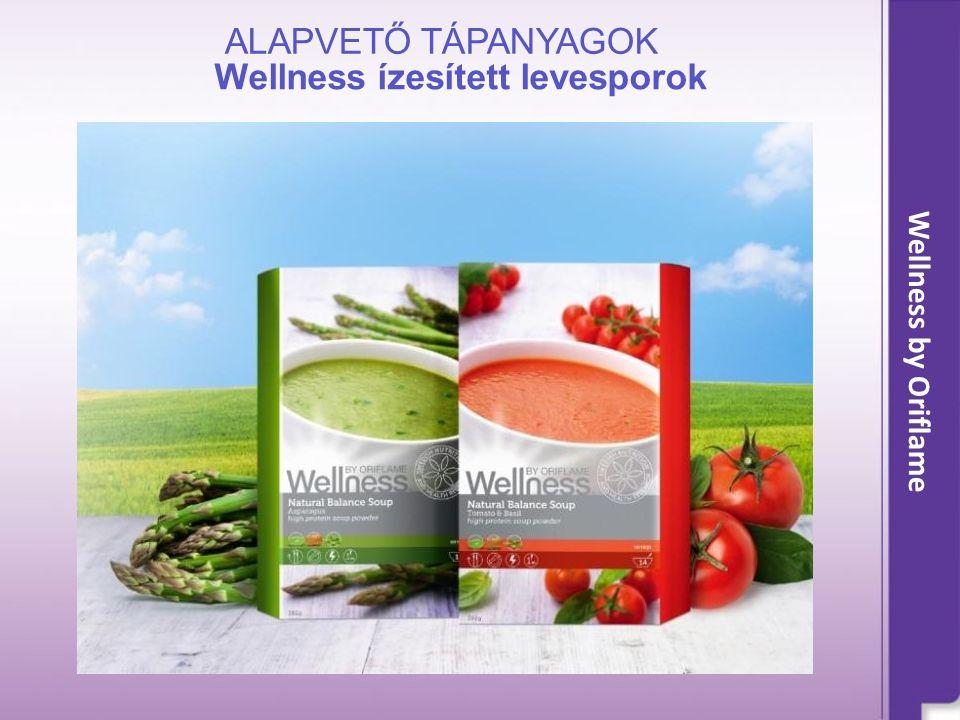 Wellness by Oriflame Wellness ízesített levesporok ALAPVETŐ TÁPANYAGOK