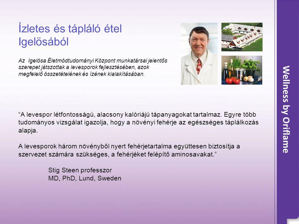 Ízletes és tápláló étel Igelösából Az Igelösa Életmódtudományi Központ munkatársai jelentős szerepet játszottak a levesporok fejlesztésében, azok megfelelő összetételének és ízének kialakításában.