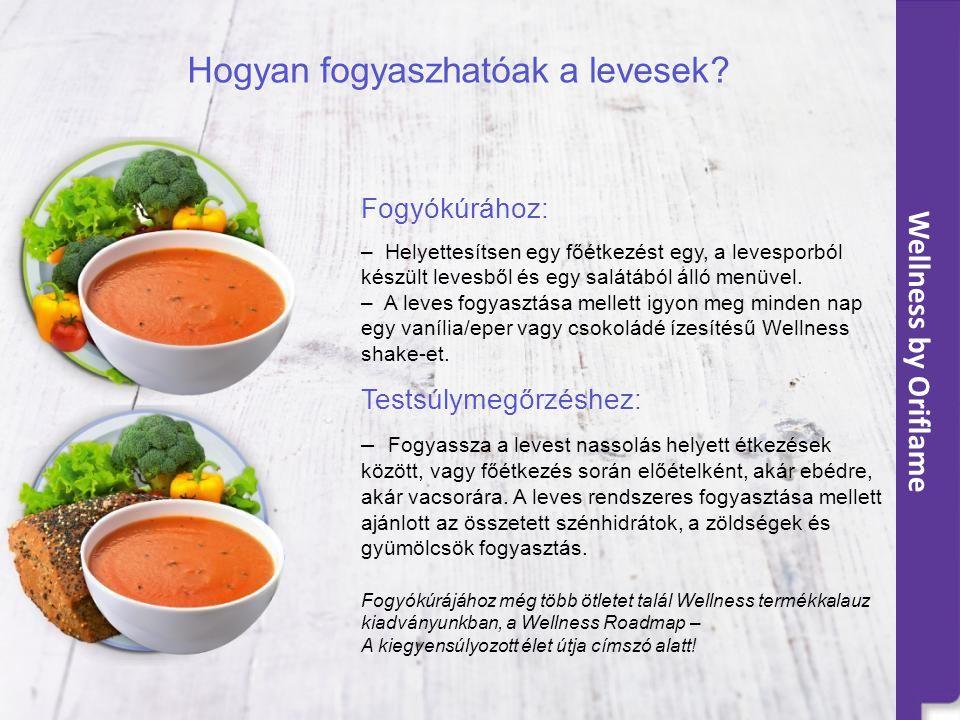 Wellness by Oriflame Hogyan fogyaszhatóak a levesek.