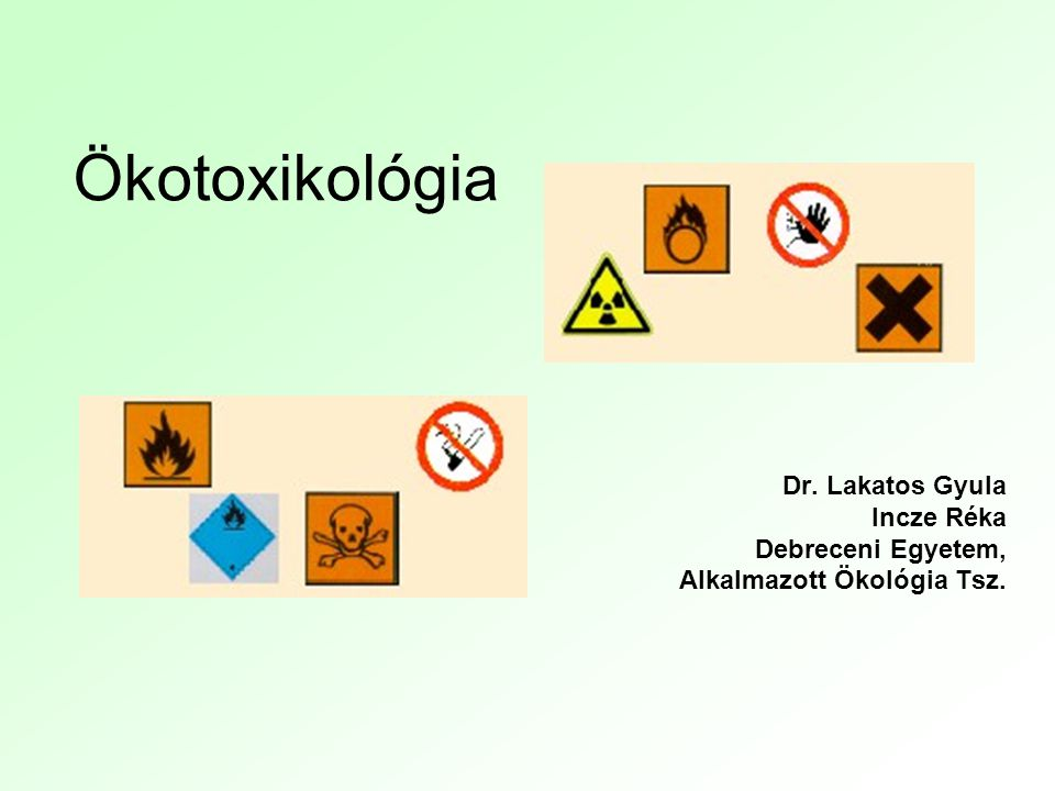 2006.11.02.Incze Réka, Ökotoxikológia 1.2 Az előadássorozat szerkezete: 1.Előadás: Bevezetés az (öko)toxikológiába 2.Előadás: Ökotoxikológiai módszerek és példák 3.Előadás: Toxikus anyagok, híres/hírhedt példák 4.Előadás: Fémek toxicitása