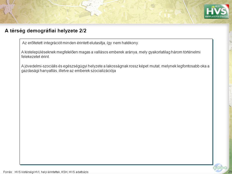 29 Az erőltetett integrációt minden érintett elutasítja, így nem hatékony.