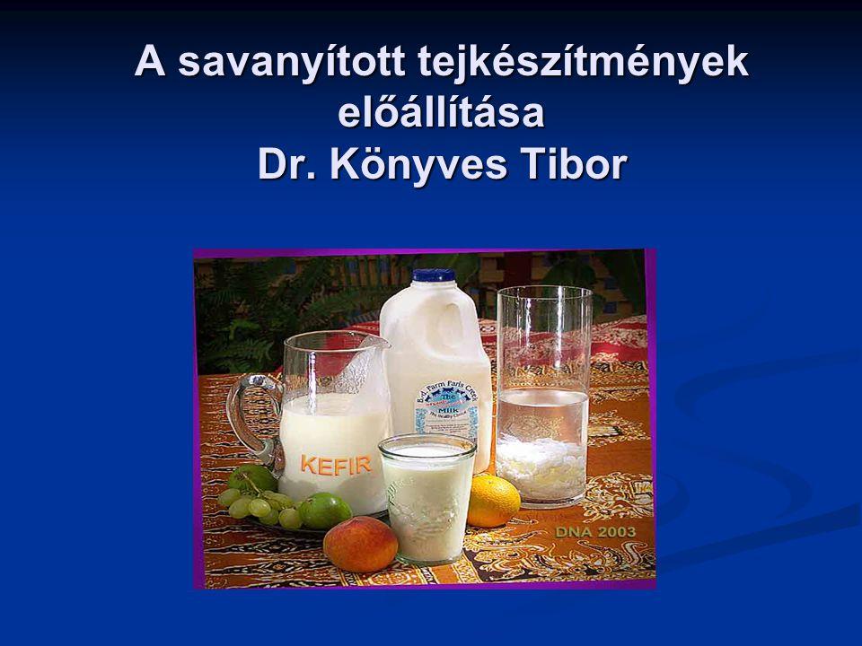 A savanyított tejtermékeke története és jelentősége Ilya Mechnikoff Nóbel díjas orosz biológus.