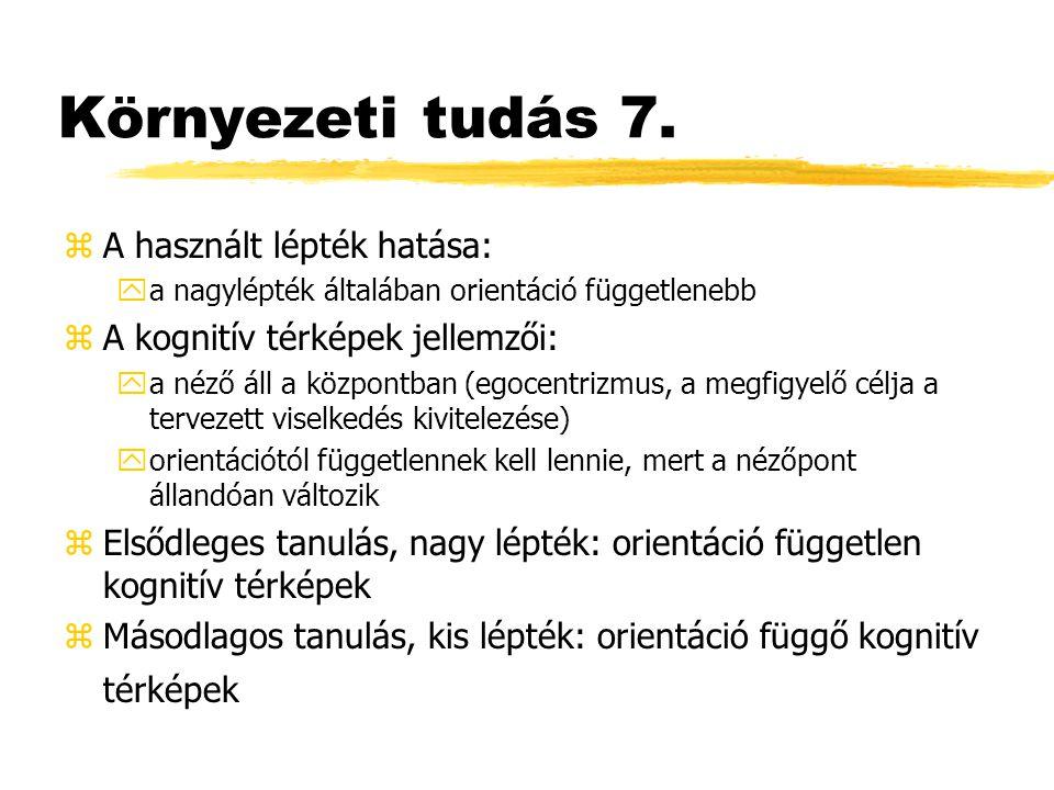 Környezeti tudás 7.