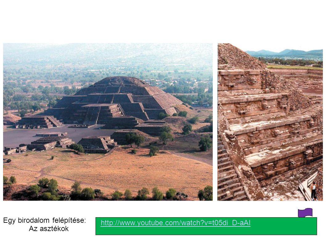 http://www.youtube.com/watch?v=t05di_D-aAI Egy birodalom felépítése: Az asztékok