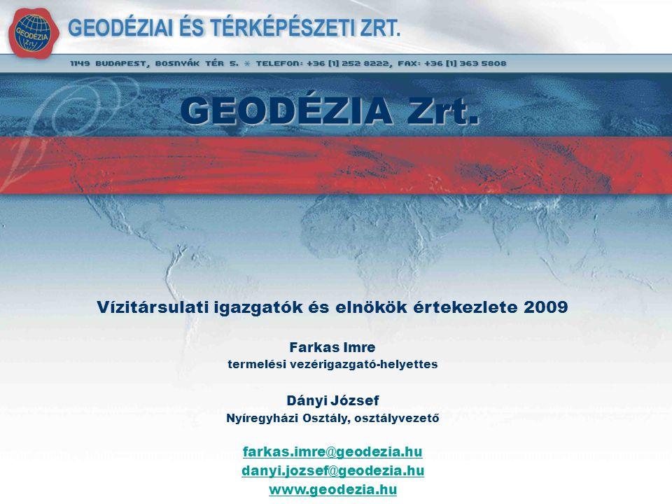 Partnereink Nemzeti Kataszteri Program Kht.TIGÁZ DSO Kft.