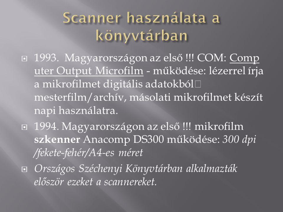  1993. Magyarországon az első !!.