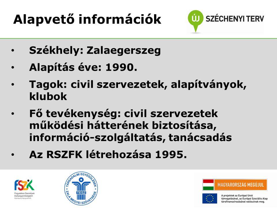 • Székhely: Zalaegerszeg • Alapítás éve: 1990.