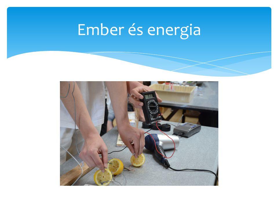 Ember és energia