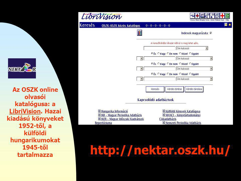 """http://www.mek.iif.hu/porta/virtual/ magyar/opac.htm Mindent egy helyen """"UGRÓDESZKA"""