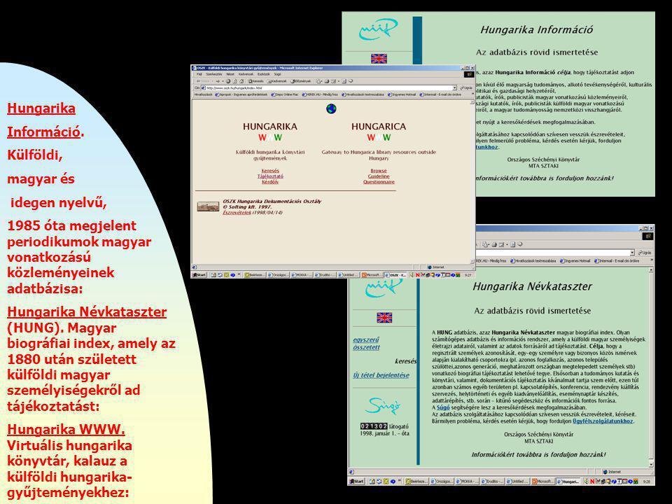 http://szaoszerv.oszk.hu/mnbkb/index.html Magyar Nemzeti bibliográfia.