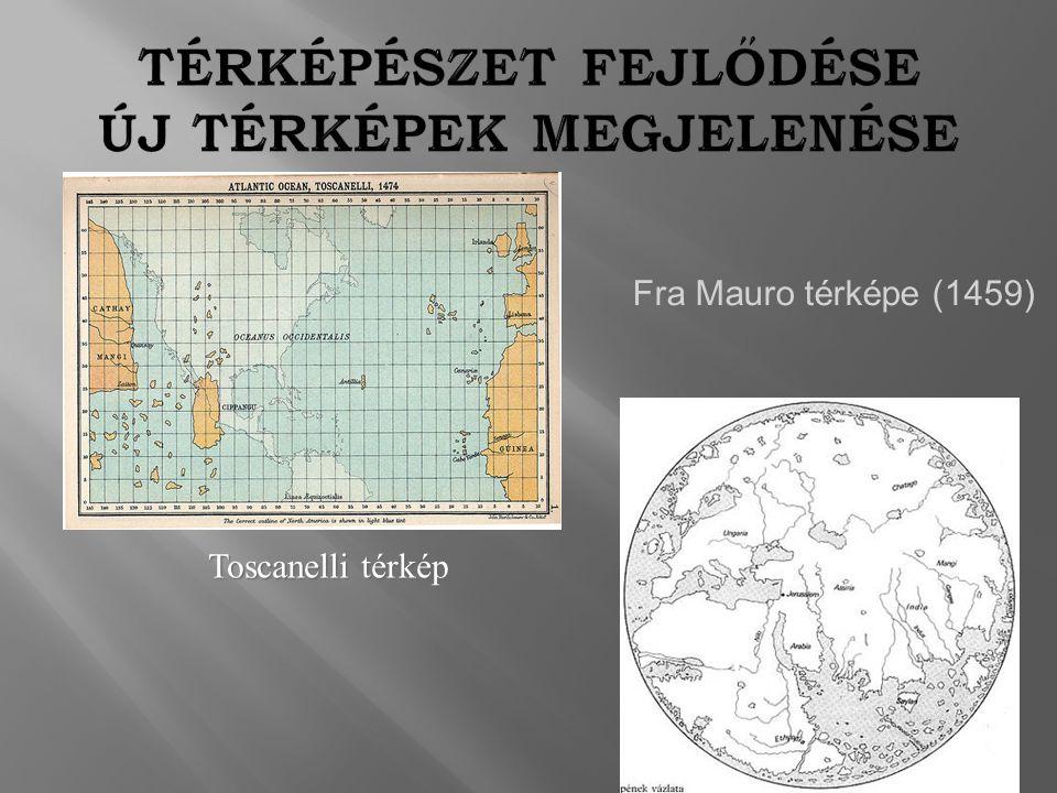 Toscanelli térkép Fra Mauro térképe (1459)