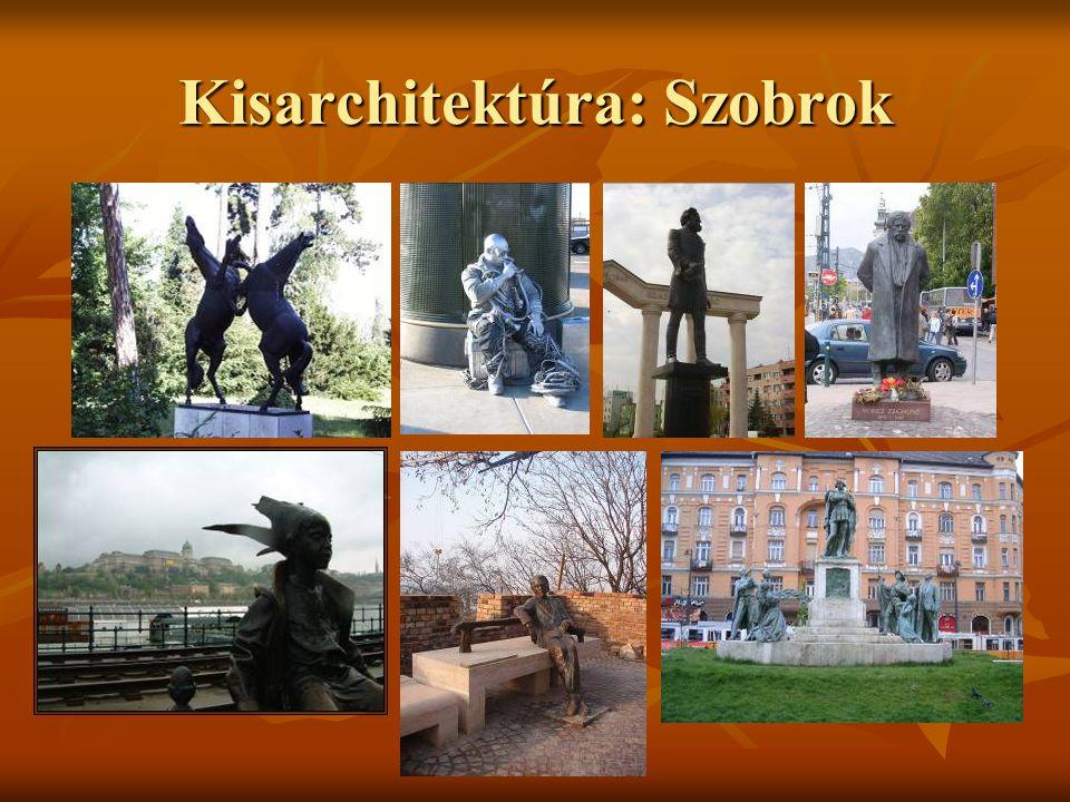 Kisarchitektúra: Kutak, szőkőkutak BalatonfüredPécs Budapest: Károlyi kert Budapest: Károlyi kert Erzsébet tér Gyöngyös