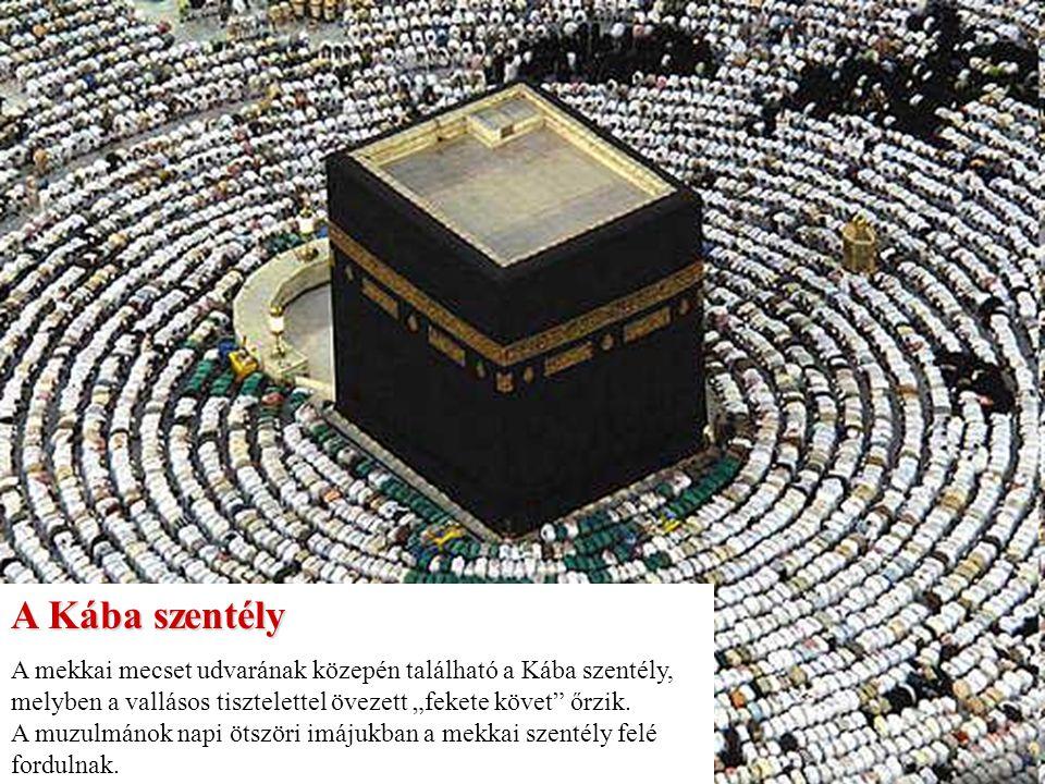 """""""A Kába keleti sarkában található a mekkai Fekete Kő."""