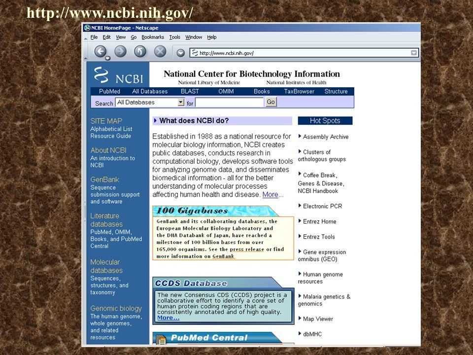 A Humán Genom reprezentációs formái: 1. : 'in silico' A Humán Genom reprezentációs formái: 1. : 'in silico' HGP (Human Genome Program) http://www.ncbi