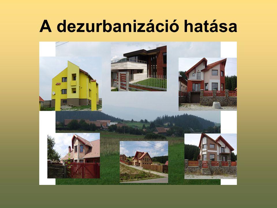 A dezurbanizáció hatása