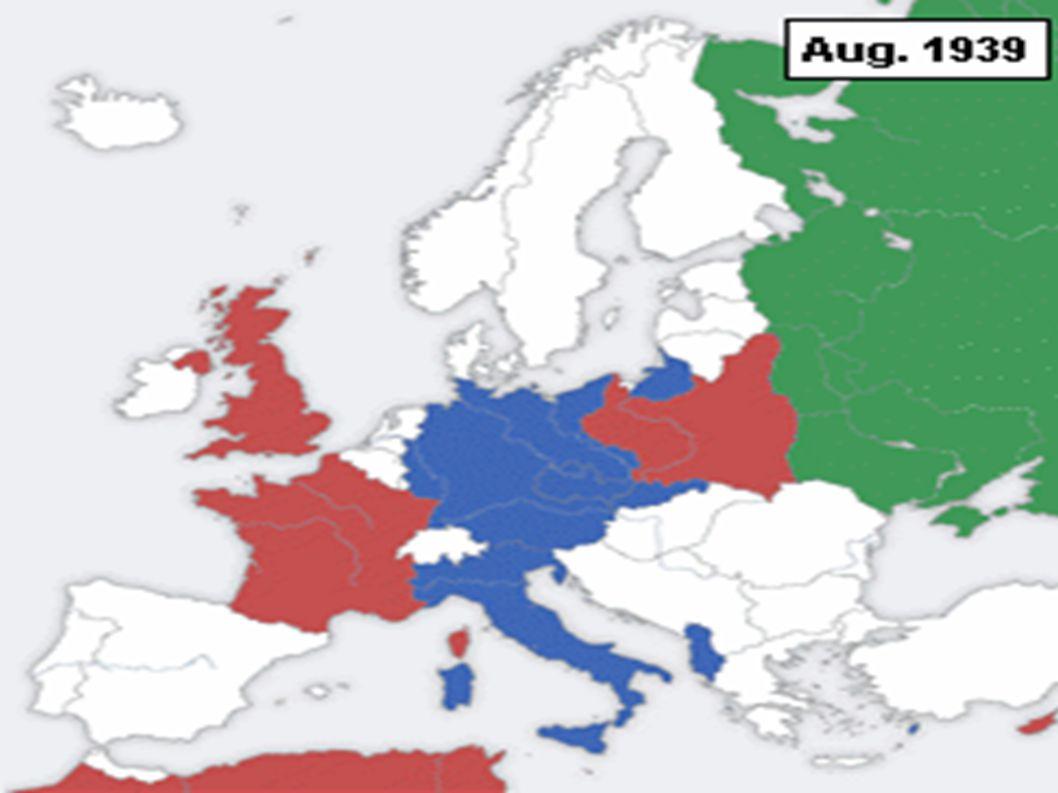 A II. világháború eseménytörténete röviden
