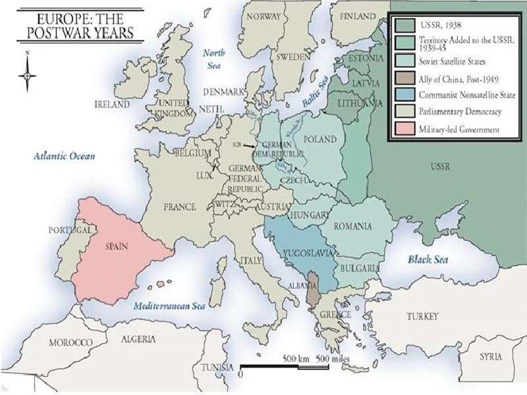 """Összegzés •Katonai és civil áldozatok aránya •Globális-totális háború •Hidegháborús vetélkedés magvai – 3 -féle nézet a történetírásban: –Orotodox - SZU –Revizionista – USA –Poszt-revizionista – Valahol a kettő között •Szovjetunió: """"near abroad - Közép-Kelet Európa"""
