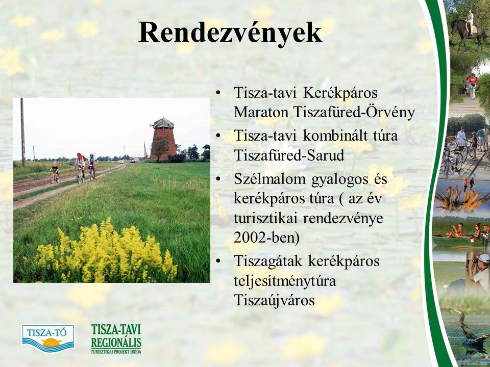 Fejlesztések Cél: a regisztrált vendégéjszakák számának növekedése Alap: Tisza-tavi Régió Turizmus Fejlesztési Stratégiája